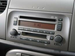 【純正オーディオ】メーカー純正オーディオ搭載。CD再生、AM/FMラジオが使えるオーディオです♪
