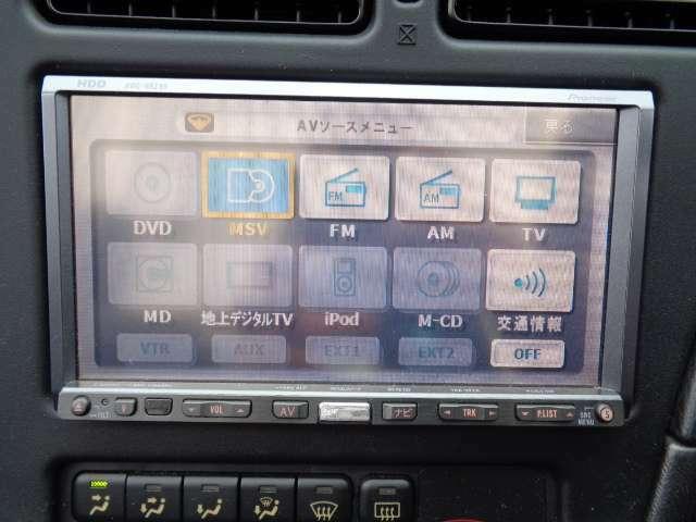 カロッツェリア製HDDナビ CD/DVD/MSV AVIC-HRZ99