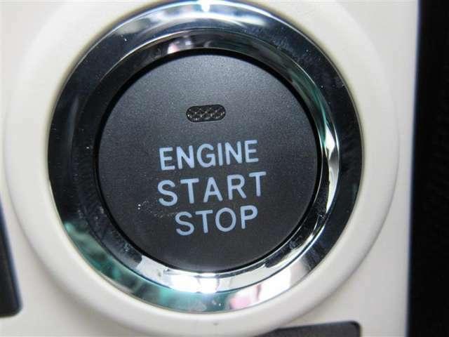 ★プッシュスタートスイッチ★キーをとり出さなくてもワンタッチでエンジン始動することができます!