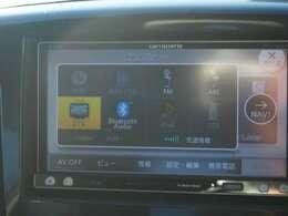 地デジ・Bluetooth等便利な機能が多彩のナビです(^^)/