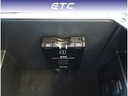 【ETC】ETCが付いていますので料金所もスムーズです。