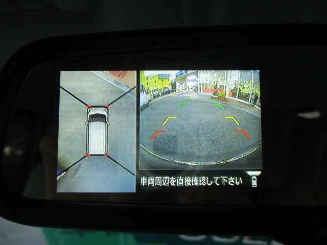 全方位カメラも付いてますので、駐車が苦手な方にも安心してお乗り頂けます!