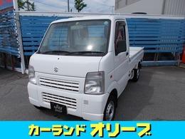 スズキ キャリイ 660 KU エアコン・パワステ 3方開 4WD エアコン パワステ バイザー