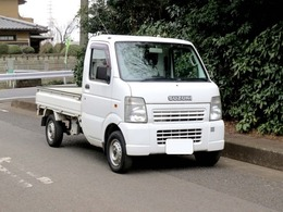 スズキ キャリイ 660 KCパワステ 3方開 4WD 28000キロ車検2年