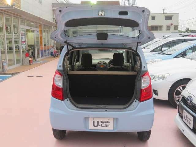 トランクの画像です!当店のカーライフアドバイザーがお客様にぴったりの車両をご提案致します!