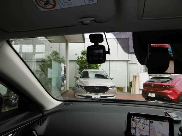 事故時のトラブル防止に!ドライブレコーダー 外品ですので保証対象外です