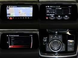 センターディスプレイにナビやフルセグTV(走行中は音声のみ)など機能を凝縮。拡張機能も充実 Bluetooth USB AUX CD/DVD/TVまで装備 快適な環境に満足していただけます!