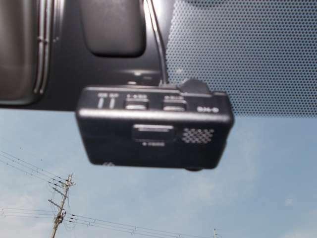 ドライブレコーダー付きです。事故やあおり運転にあっても証拠が残るので安心できます。