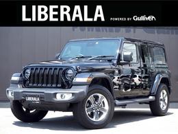 ジープ ラングラー アンリミテッド サハラ 2.0L 4WD ACC 黒革シート 純ナビTV CarPlay Bカメラ