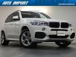 BMW X5 xドライブ 35d Mスポーツ 4WD セレクトP 7人乗り パノラマ 黒革 ACC 19AW