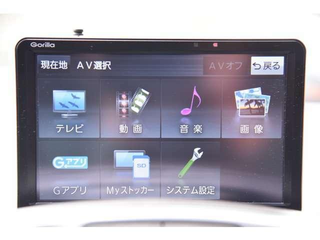 パナソニックPナビ、TV、ETC、バックモニター&カメラ、ドライブレコーダーまで装備されておりますので、このまま直ぐにご利用いただけます。