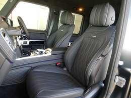 ◆メモリー付パワーシート/アクティブマルチコントロールシートバック/ドライビングダイナミックシート/リラクゼーション機能(前席) ◆シートヒーター(全席)/シートベンチレーター(前席)