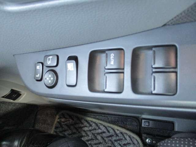 電動格納式ドアミラー&PW付き。