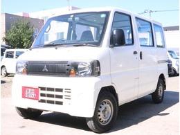 三菱 ミニキャブバン 660 CS 4WD 5MT・切替式4WD・修復無し・3.2万k