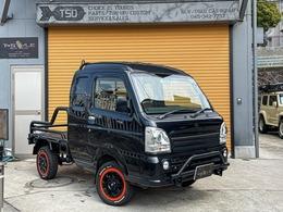 スズキ キャリイ 660 スーパーキャリイ X 3方開 4WD フロントガード 2インチアップ