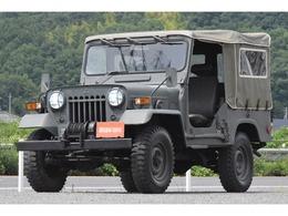 三菱 ジープ 4ナンバー 新品幌 73式自衛隊仕様 NoxPM不適 H-J26改
