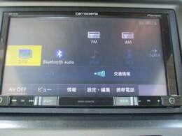 カロッツェリアAVIC-RZ700メモリーナビです。DVD/CD再生のほかフルセグTV、Bluetooth連携機能が装備されとっても便利です!