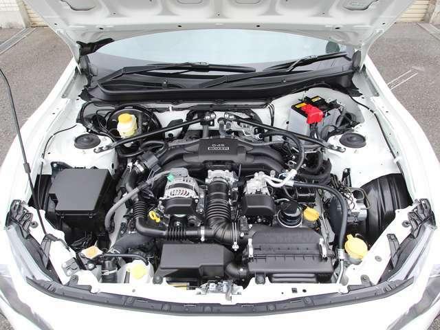 クリーニング済み綺麗なエンジンルーム&DS-4×直噴BOXERエンジ!!