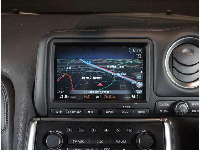 純正HDDナビで快適なドライブが楽しめます!!