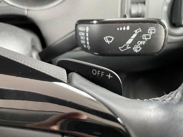 便利なパドルシフトで変速ができます。ドライブが楽しくなります♪