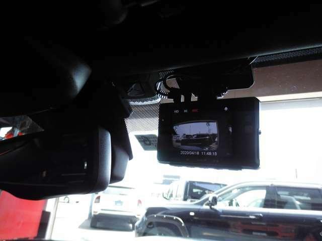 前後2カメラドライブレコーダー取付プランです☆オプション装着で駐車中録画もできる人気商品です♪※取り付け工賃も含まれております