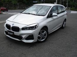 BMW 2シリーズグランツアラー 218d xドライブ Mスポーツ 4WD FRカメラ ナビ