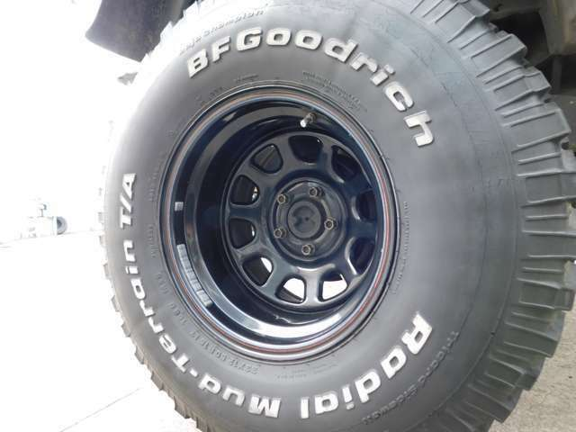 ★33×12.50R15のBFグッドリッチホワイトレタータイヤ!
