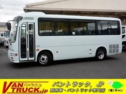 日野自動車 リエッセ デラックスターボ 送迎バス 29人乗 自動ドア バックカメラ 坂道発進補助