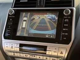 【 MOP パノラミックビューモニター 】上空から見下ろしたような映像をナビ画面に映し出し、周囲の状況を確認しながら駐車等が可能となっております!