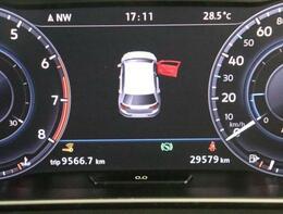 デジタルメーターで時刻、瞬間平均燃費、外気温度、運転時間、走行距離等メニュー表示します。