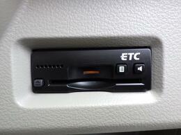 ETC車載器(ビルトインタイプ)が装着されています。