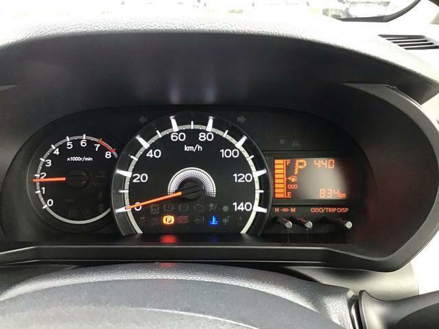 """【メーター】 メーター内には、""""平均燃費""""や次回給油までの距離をお知らせする""""航続可能距離""""、アイドリングストップのタイマーや、節約燃料など、走行に役立つ様々な情報が表示されます♪"""