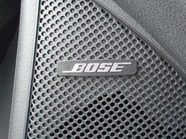 BOSEサウンドシステム(8スピーカー)+ アクティブ・サウンド・コントロール+アクティブ・ノイズ・コントロール