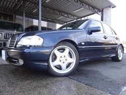 AMG Cクラス C43 正規ディーラー車 屋内保管 黒革シート