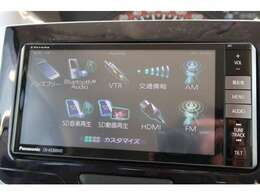 Bluetooth付フルセグTV・DVD再生・音楽録音便利なナビです!