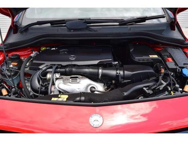 エンジンも特に異音も無く、コンディション良好です。