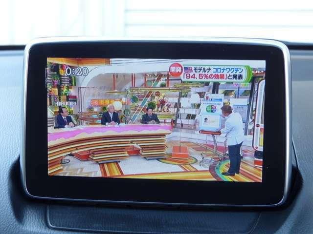 鮮明なフルセグテレビです DVD再生、Bluetooth機能搭載!
