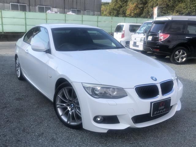 BMW320iMスポーツ入庫しました!HDDナビ・TV・Bカメラ付き!
