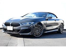 BMW 8シリーズカブリオレ 840d xドライブ Mスポーツ ディーゼルターボ 4WD アイボリーホワイト革レーザーライト