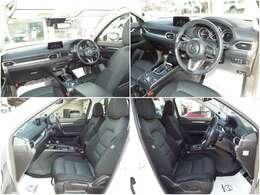 運転席、助手席共に広々とし、圧迫感なくゆったりとご乗車できる車内となっております。