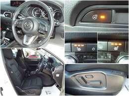 運転席、助手席は寒い季節も安心のシートヒーター搭載!ステアリングヒーターも搭載されております!