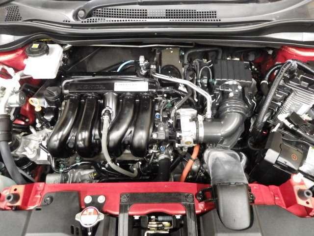 【HYBRIDシステム】エンジン走行と電気モーター走行の切り替えで低燃費とハイパワーのアシスト電気モーター内臓1,500CCガソリンエンジンです!