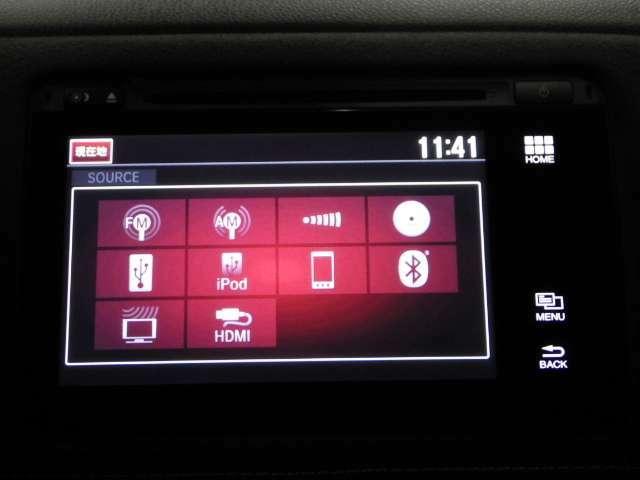 【オーディオ】フルセグ・BluetoothMusic・CD/DVD再生・HDMI接続端子と多彩なソースを装備しております