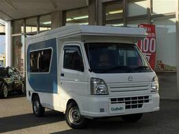 マツダ スクラムトラック 660 KX 4WD キャンピングカー リゾートDUO 4WD AT