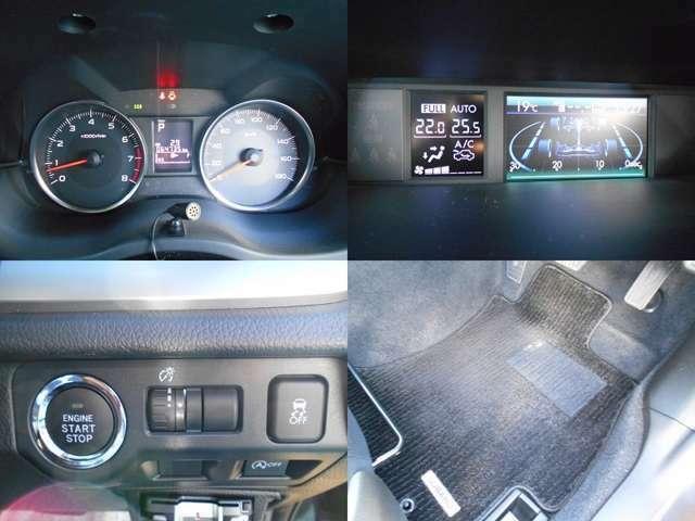 走行距離はまだまだ6万5千キロ!!車両情報等が確認できる『マルチファンクションディスプレイ』!!エンジンスタートがワンプッシュでスタイリッシュな『プッシュスタート』!!『フロアマット』もしっかり装備!
