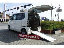 ホンダ N-BOX+ 660 G Lパッケージ 車いす仕様車 左電動スライドHID