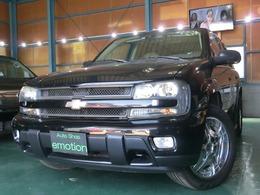 シボレー トレイルブレイザー LTZ サンルーフ装着車 4WD 革シート HDDナビ ETC 社外AW20