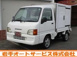 スバル サンバートラック 660 TB 三方開 4WD エアコン/パワステ/後付荷箱