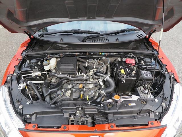 メーカーカタログ引用エンジン型式KF 出力64ps(47kW)/6400rpm トルク9.4kg・m(92N・m)/3200rpm 種類水冷直列3気筒DOHC12バルブICターボ