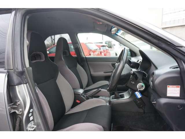 内装クリーニング済みの綺麗なフロントシートです!